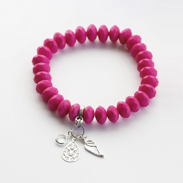 Armband in Pink