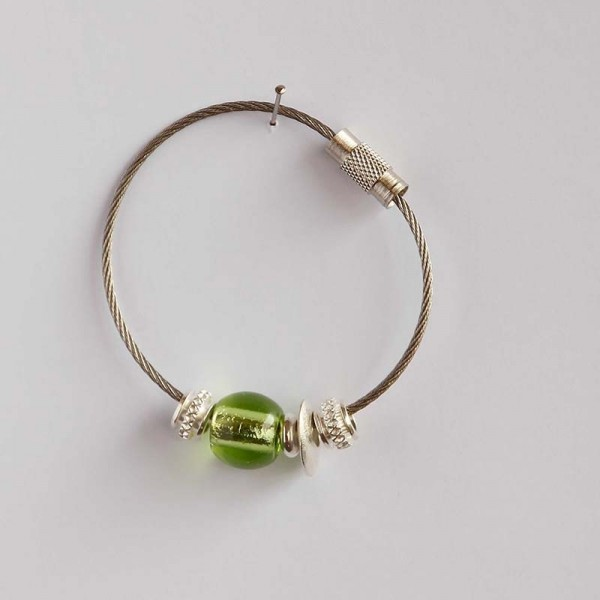 Schlüsselring Grün