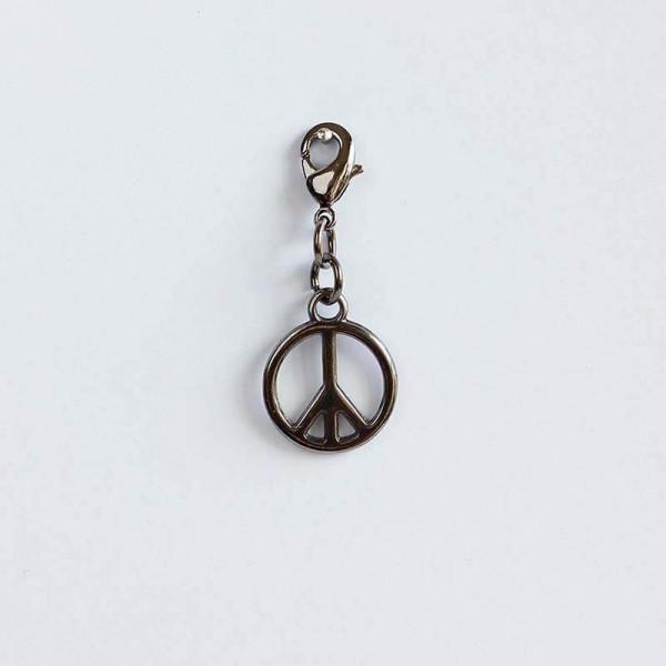 Anhänger Peace Schwarz