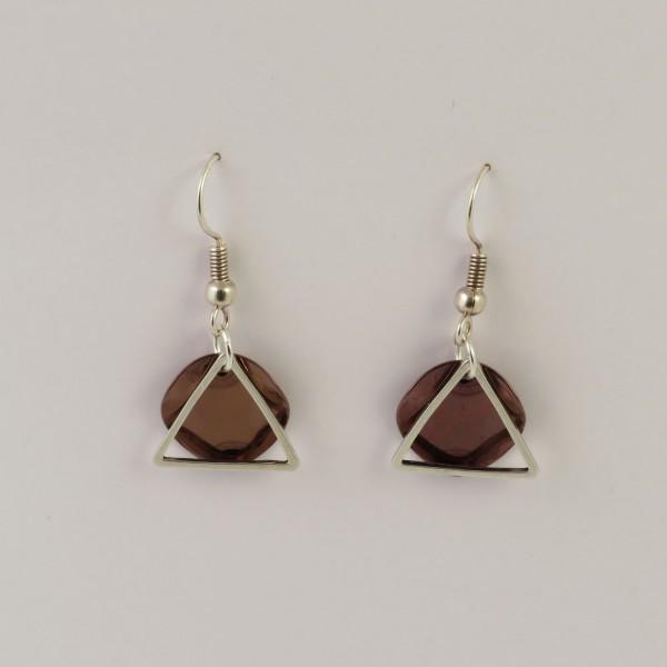 Ohrringe Geometrisch Silber